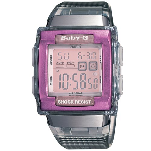 Casio Women's Baby-G+Square Grey Skeleton Watch #BG180SG-8
