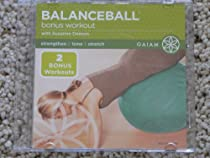 BalanceBall Bonus Workout DVD with Suzanne Deason from Gaiam