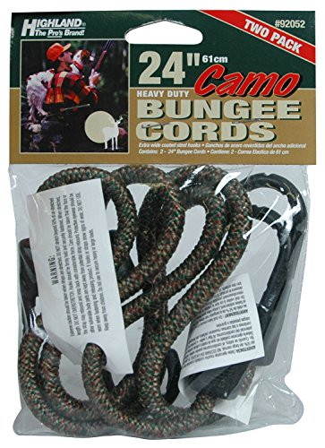 Highland (9205200) 24 Camouflage Bungee Cord - 2 piece trespass highland