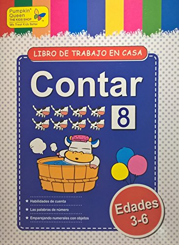 Count / Contar. Aprende español / Learn Spanish - Libro de actividades para niños / Activities for kids