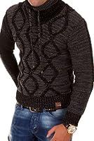 Tazzio Strickpullover mit Hochkragen Pullover 3992