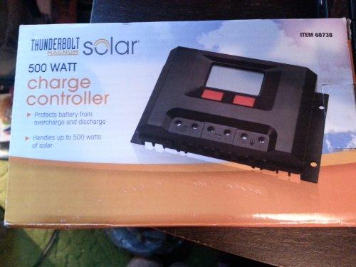 500 Watt Solar Charge Controller (Solar Panel Voltage Controler compare prices)