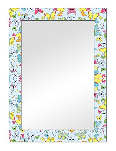 The Attic Riverdale Mirror Frame (Glossy Finish, Brown)