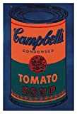 Andy Warhol Colored Campbell's Soup Can, 1965 (Blue & Orange) 13 x 19 Pop Print