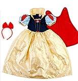 種類色々♪ ディズニー プリンセス キッズ コスチューム Halloween costume (白雪姫, S)