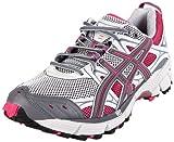 ASICS Women's Gel-Kahana 5 Running Shoe,Dark Grey/Charcoal/Pink,8.5 (D) US