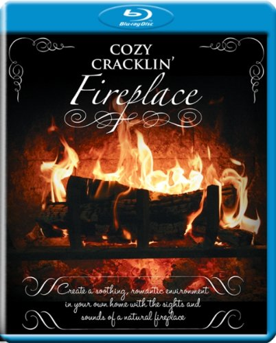 Cozy Cracklin' Fireplace [Blu-ray]