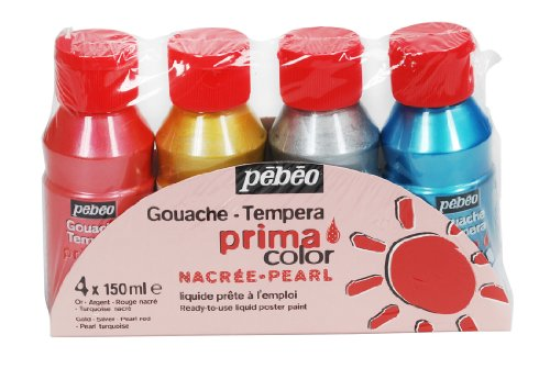 pebeo-055591-primacolor-nacree-pack-de-4-flacons-de-150-ml