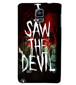 SAMSUNG GALAXY NOTE EDGE I SAW THE DEVIL Back Cover by PRINTSWAG
