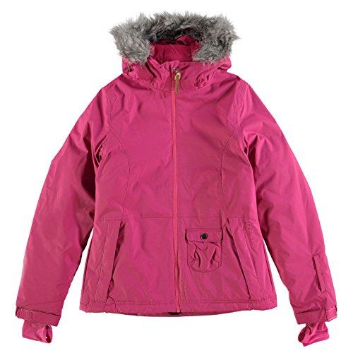 ONeill Ragazze Gemstone Leggero Giacca Manica Lunga Cappotto Top Abbigliamento Rosa 11-12 (LG)