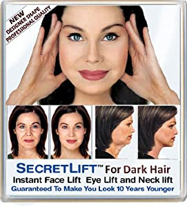 instant face neck and eye lift dark hair. Black Bedroom Furniture Sets. Home Design Ideas