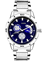 Veens Analogue Blue Dial Men'S Watch-Dw1284Ic
