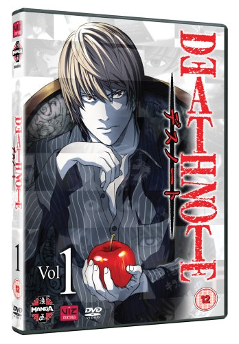 Death Note - Volume 1 (Episodes 1-8) [DVD]