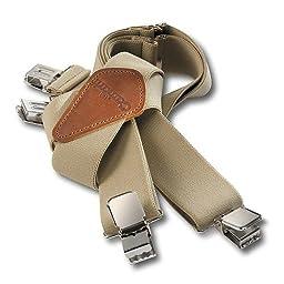 Carhartt 45002 Adult\'s Utility Suspender Khaki One Size