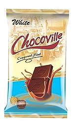 Chocoville Compound Chocolate slab, White - 500 gms
