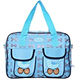 Baby Bucket Baby Diaper Changing Mother Bag (Blue)