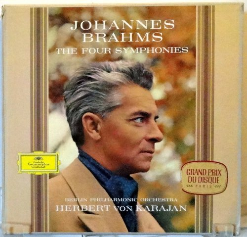 Brahms: The Four Symphonies, von Karajan, Big Tulip, SKL 133 (Brahms The Four Symphonies Vinyl compare prices)