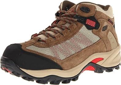 Skechers for Work Women's Twee Boot,Brown,11 M US