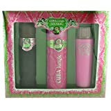 Cuba Jungle Snake Gift Set By Cuba for Women Perfume, Deorant Spray and Body Lotion