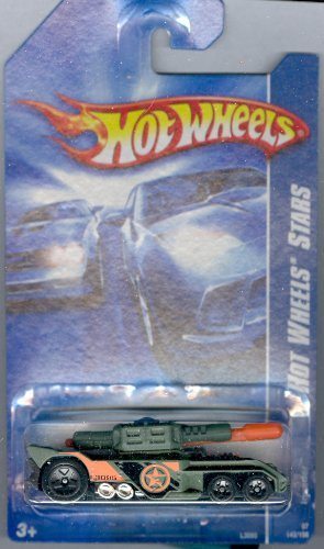Hot Wheels 2007-142 STARS Invader Army Green 1:64 Scale