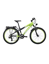 Serious Dirt 240 childrens bike 24 inch green/black 2015