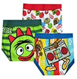 Yo Gabba Gabba 3 Pack Toddler Boys Briefs for boys