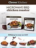 Microwave BBQ Chicken Roaster with New Cookbooklet