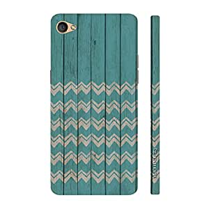 Enthopia Designer Hardshell Case Barcelonata Back Cover for Oppo F1S