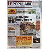 POPULAIRE DU CENTRE (LE) [No 125] du 31/05/2006 - FOOTBALL - LA FRANCE AU REVELATEUR DANOIS - ES BRIVE - VOSTANIC...