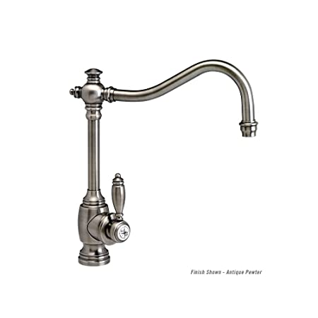 Waterstone 4200-BLN Black Nickel Annapolis Kitchen Faucet - Hook Spout - Lever Handle
