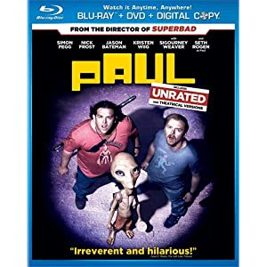 Paul Movie on Blu-ray dvd digital combo