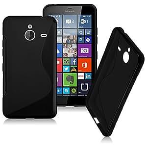Smart Choice Anti-skid Soft TPU Back Case Cover for Microsoft Lumia 940 XL (Black)