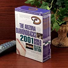 Arizona Diamondbacks 2001 World Series Collector39s Edition 7-Disc DVD Set by Football Fanatics