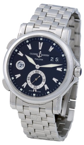 Ulysse Nardin Men's 243-55-7/92 Dual Time Watch