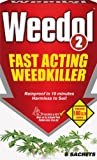 Scotts Weedol2 New 6 Sachet Weed Killer