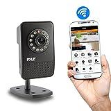 PIPCAM12 Mini Wireless IP Video Security Surveillance Camera - Live Remote Monitoring via Mobile App Intercom
