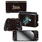 Nintendo Switch Skin & Screen Protector Set - The Legend of Zelda Breath of the Wild