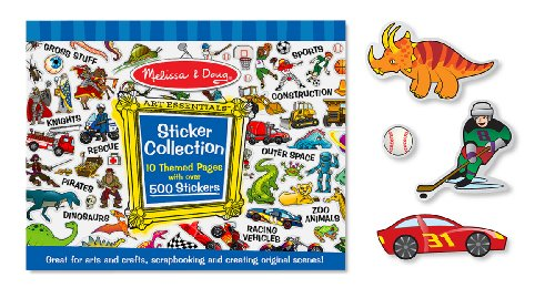Melissa & Doug Sticker Collection- Blue