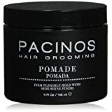 PACINOS POMADE - Firm & Flexible Hold With Semi Shine Finish (Color: Black)