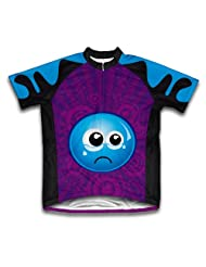 Crying Eyes Short Sleeve Cycling Jersey for Women