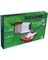 Guitare Pro Fender Mustang Rock Band 3 sans fil -  Rouge