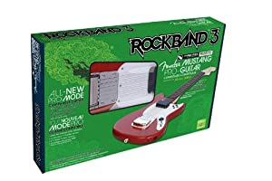rock band 3 wireless fender mustang pro guitar controller for xbox 360 video games. Black Bedroom Furniture Sets. Home Design Ideas