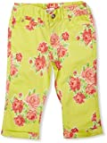 Pumpkin Patch 3/4 Length Floral Easy Fit Girl'S Trousers