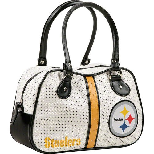 NFL Officially Licensed Bowler Baseball Purse (Pittsburgh Steelers) at SteelerMania