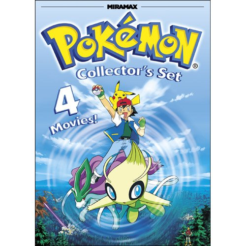 Pokemon Collector's Set: Pokemon Heroes / Pokemon 4Ever / Pokemon: Destiny Deoxys / Pokemon Jirachi: Wish Maker (Free Pokemon Ca compare prices)