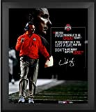 """Urban Meyer Ohio State Buckeyes Framed Autographed 20"""" x 24"""" Quote Photograph - Fanatics Authentic Certified"""