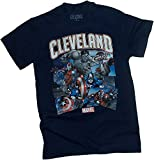 NBA / Marvel Comics -- Cleveland Cavaliers -- Avengers -- Adult T-Shirt, X-Large