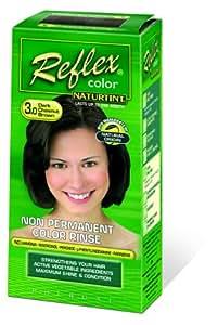 Naturtint Reflex Coloration temporaire pour cheveux 3.0 Châtain foncé 90ml