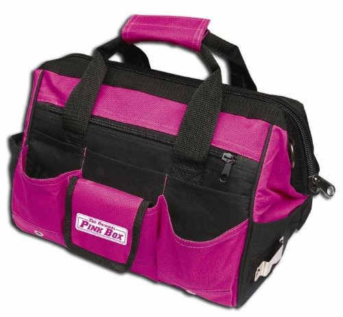 The Original Pink Box PB16TB 16-Inch Tool Bag, Pink