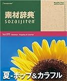 素材辞典 Vol.171 夏~ポップ&カラフル編